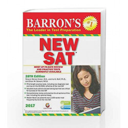 Barrons NEW SAT 28th ed. - 2017 by Sharon Weiner Green Book-9788175157644