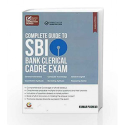 SBI Bank Clerical Exam by KUMAR PUSHKAR Book-9788175157675