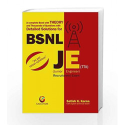 DETAILED SOLUTIONS FOR BSNL JE (1ST EDITION) by RANGWALA Book-9788175157767