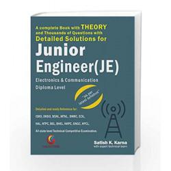Detailed Solutions for Junior Engineer (JE) by Satish K Karna Book-9788175157798