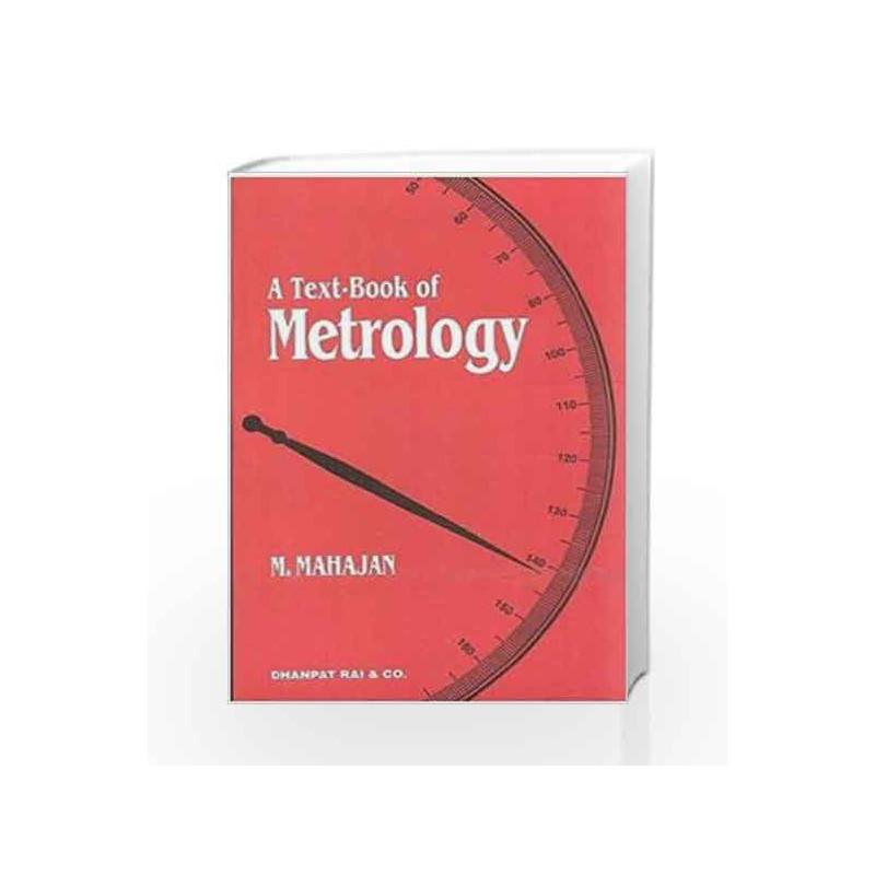 Metrology Textbook By Mahajan Pdf