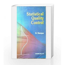 Statistical Quality Control by M. Mahajan Book-9788177000658