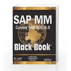SAP MM (Covers SAP ECC 6.0) Black Book by Kogent Learning Solutions Inc. Book-9788177223804