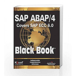 SAP ABAP / 4 (Covers SAP ECC 6.0) Black Book by Kogent Learning Solutions Inc. Book-9788177224290