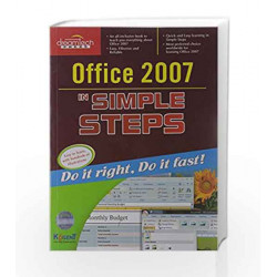 Office 2007 in Simple Steps by Kogent Solutions Inc. Book-9788177227840