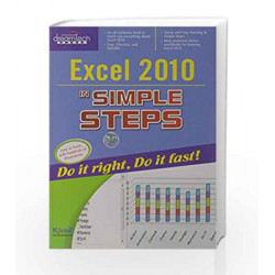 Excel 2010 in Simple Steps by Kogent Learning Solutions Inc. Book-9788177228069