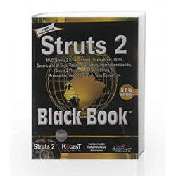 Struts 2 Black Book, 2ed by Kogent Solutions Inc. Book-9788177228700