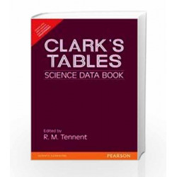 Clark\'s Tables : Science Data Book by Tennent R M Book-9788177581515