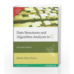 Data Structures and Algorithm Analysis in C, 2e by Weiss Book-9788177583588