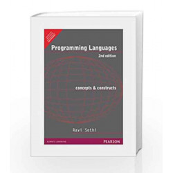 Programming Languages: Concepts & Constructs, 2e by SETHI Book-9788177584226