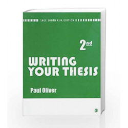 Writing your Thesis by Paul Oliver Book-9788178299181