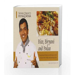 Rice,Biryani and Pulao (Non-Veg) by Sanjeev Kapoor Book-9788179913611