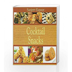 Cocktails Snacks by Sanjeev Kapoor Book-9788179916759