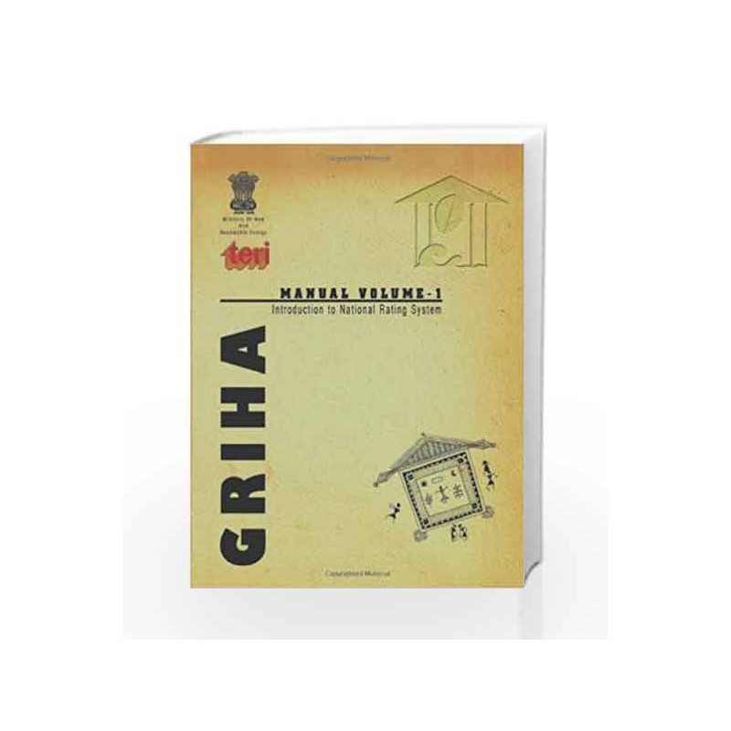 GRIHA Manual by Teri publishers India Book-9788179934067