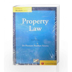 Property Law by Poonam Pradhan Saxena Book-9788180386886