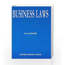 Business Law: Including Company Law by N.D. Kapoor Book-9788180546136