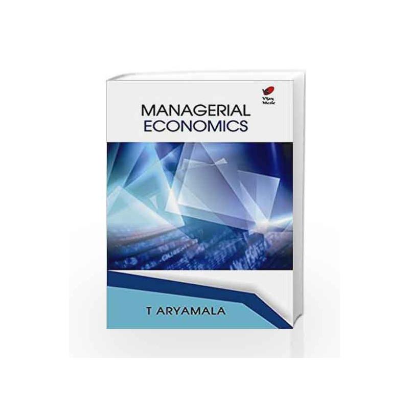 Managerial Economics by Aryamala T Book-9788182091955