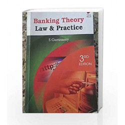 Banking Theory Law and Practice 3e by Gurusamy S Book-9788182091979