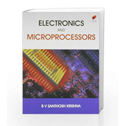 Electronics and Microprocessors by Santhosh Krishna Book-9788182093133