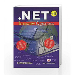 .NET: Interview Questions by Shivprasad Koirala Book-9788183331470