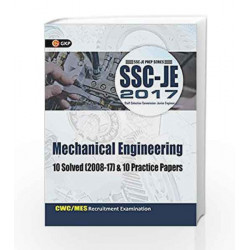 SSC JE Mechanical Engineering 10 Solved Papers & 10 Practice Papers by GKP Book-9788183554817