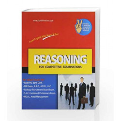 Reasoning (for Competitive Examinations) by GKP Book-9788183555357