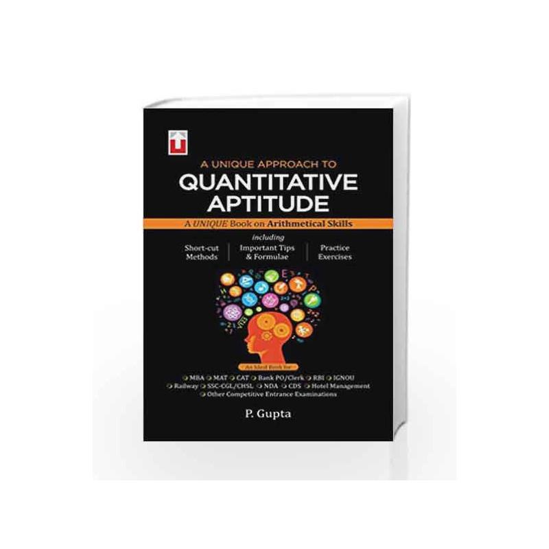 Quantitative Aptitude by P.Gupta Book-9788183572279