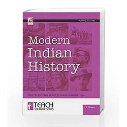 Modern Indian History by Y. KESHAVA MENON Book-9788183576505