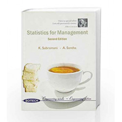 Statistics for Management by Subramani Book-9788183712552