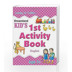 1st Activity Book - English (Kid\'s Activity Books) by Dreamland Publications Book-9788184513691
