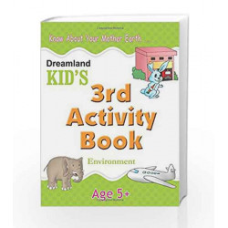 3rd Activity Book - Environment (Kid\'s Activity Books) by Dreamland Publications Book-9788184513752