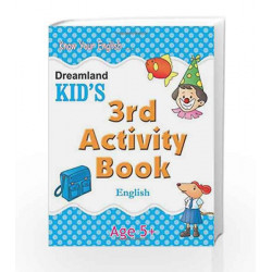 3rd Activity Book - English (Kid\'s Activity Books) by Dreamland Publications Book-9788184513776