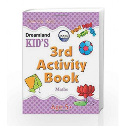 3rd Activity Book - Maths (Kid\'s Activity Books) by Dreamland Publications Book-9788184513783