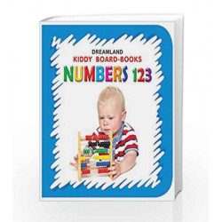 Numbers 123 (Kiddy Board Book) by Dreamland Publications Book-9788184514599