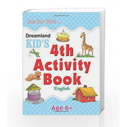 4th Activity Book - English (Kid\'s Activity Books) by Dreamland Publications Book-9788184516517