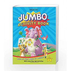 Jumbo Activity Book with 365 Activity by Dreamland Publications Book-9788184516913