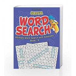 Super Word Search Part - 9 by Dreamland Publications Book-9788184518726