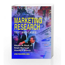Marketing Research Text & Cases by Boyd Harper W Book-9788185386164