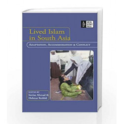 Lived Islam in South Asia by Imtiaz Ahmad Book-9788187358473