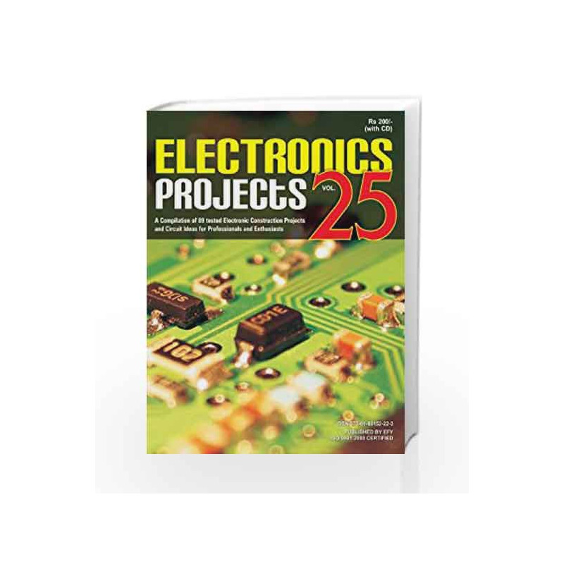 Electronics Projects Volume-25 by -Buy Online Electronics Projects ...