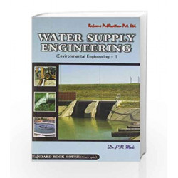 Water Supply Engineering: v. 1 by P.N. Modi Book-9788189401351