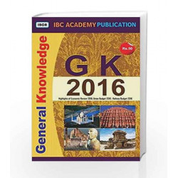 General Knowledge 2016 by Domain Expert Book-9788192649597