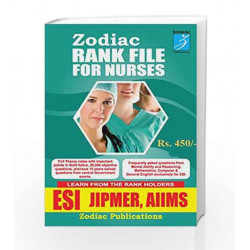 ESI JIPMER, AIIMS (Rank file for Nurses) (First Edition, 2016) by Anees. A Book-9788192843346