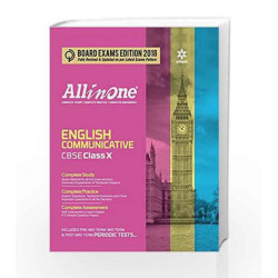 All in One ENGLISH COMMUNICATIVE CBSE Class 10th by Gajendra Singh Book-9789311122618