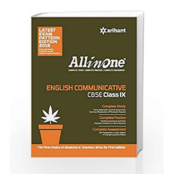 All in One ENGLISH COMMUNICATIVE CBSE Class 9th by Gajendra Singh Book-9789311122625