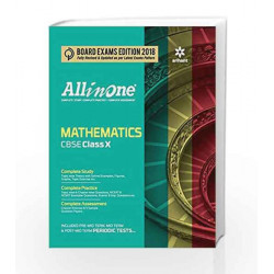 All in one MATHEMATICS class 10th by Arihant experts Book-9789311124339