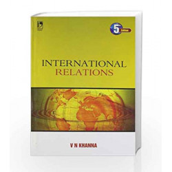 International Relations by V.N. Khanna Book-9789325968363