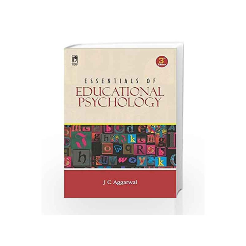 Essentials of Educational Psychology by J C  Aggarwal-Buy Online Essentials  of Educational Psychology Book at Best Price in India:Madrasshoppe com