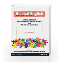 General English For Competitive Examinations, 1e by A. P. Bhardwaj Book-9789332507982