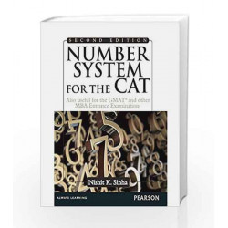 Number System for the CAT, 2e by Sinha Book-9789332508125